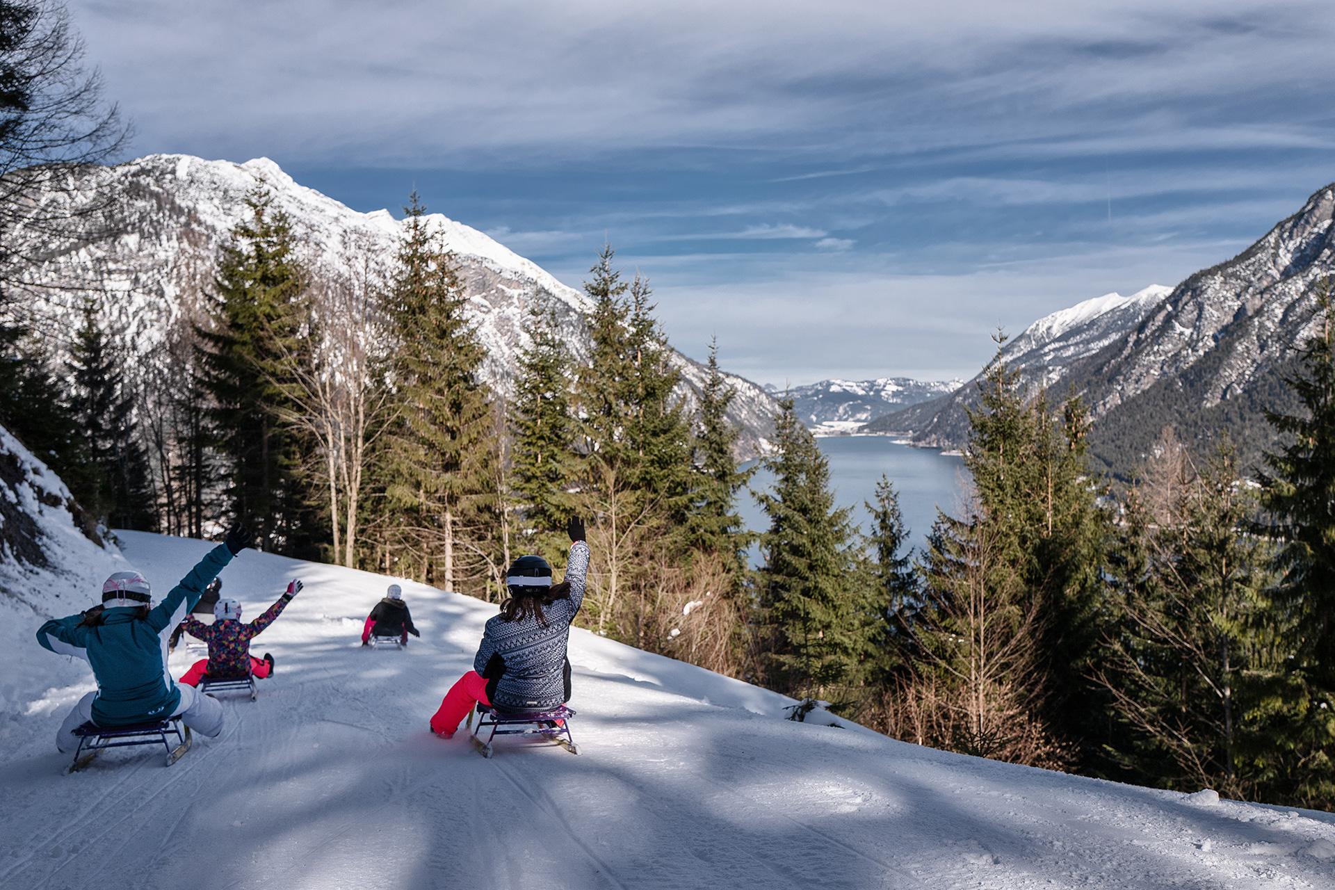 Skigebiet & Pistenplan - Skigebiet Nauders Reschenpass - Tiroler Oberland -