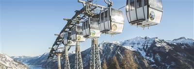 Die Karwendel Bergbahn im Winter